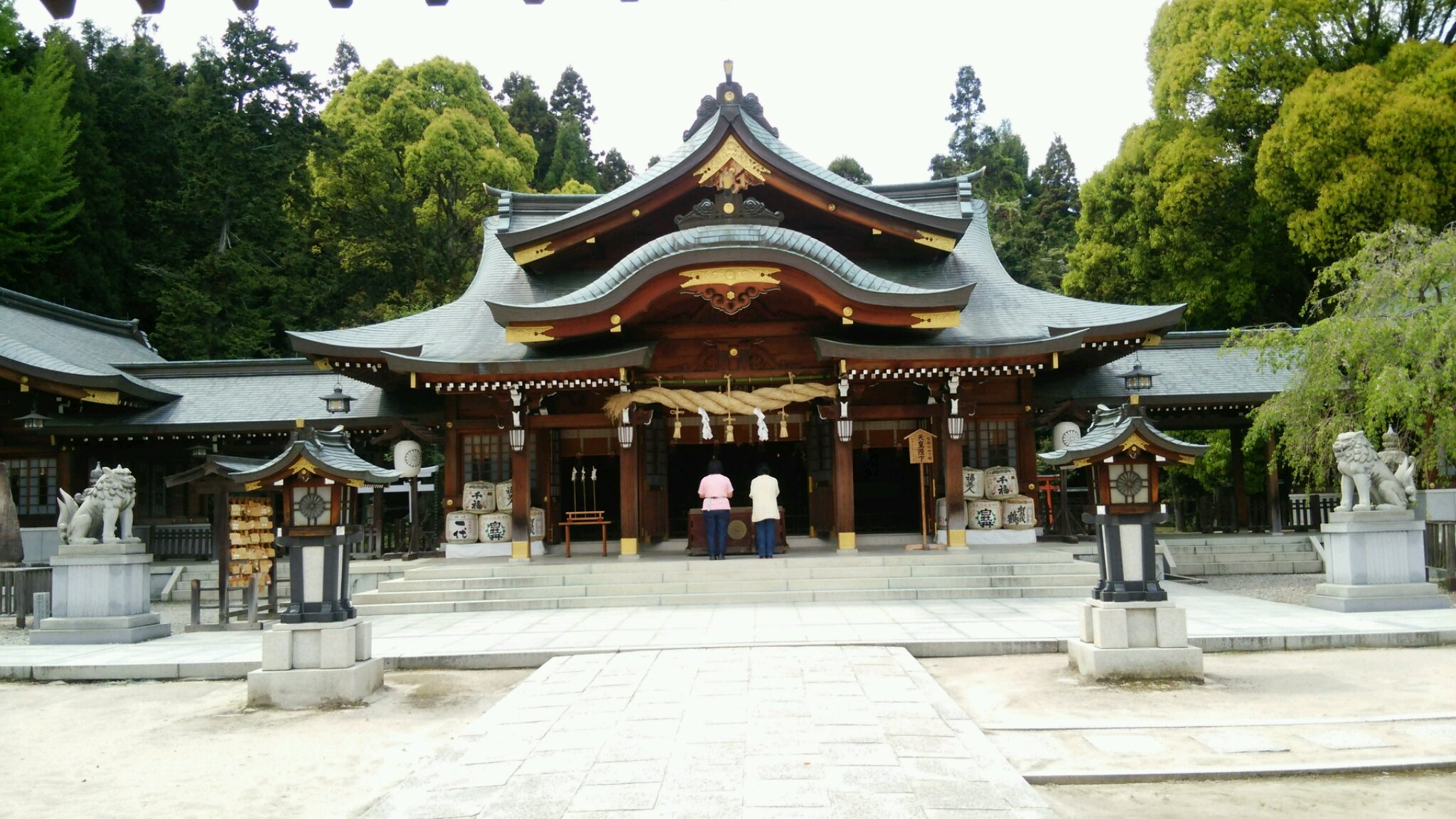 速谷神社訪問!!